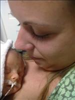 první klokánkování - 14 dní od porodu