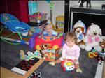 Doma máme teď hračkářství :-) Naše váha v roce je Liduška 7050g Honzík 8160g