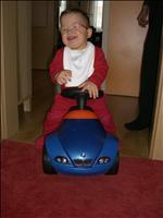 Náš malý motorista (11měsíců korigovaně)