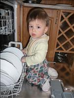 Takhle doma uklízím myčku :o)) - 16.2.2010