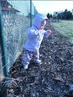 23.3.2010 - Na zahradě - už chodím :o)