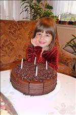 Sašenka - 4.-té narozeniny
