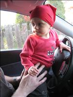Emmí řídí :-)