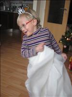 Emmi je neúnavná tanečnice a princezna v jednom :-)