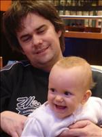 Eva - 1 rok (s tátou)