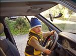 Nadšený řidič!