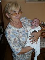 u babičky v Rakovníku